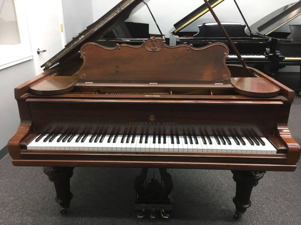 Steinway and sons brown piano used