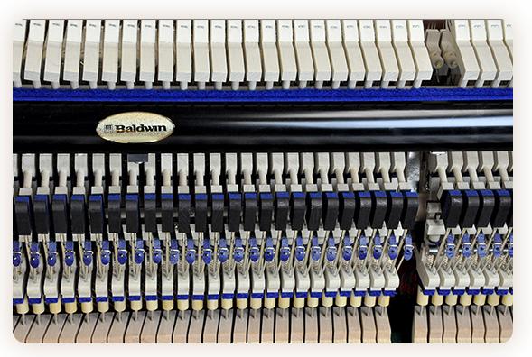 Baldwin Piano keys