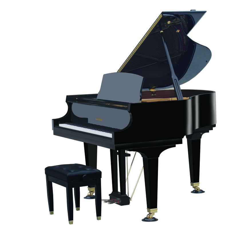Black Baldwin Piano Small
