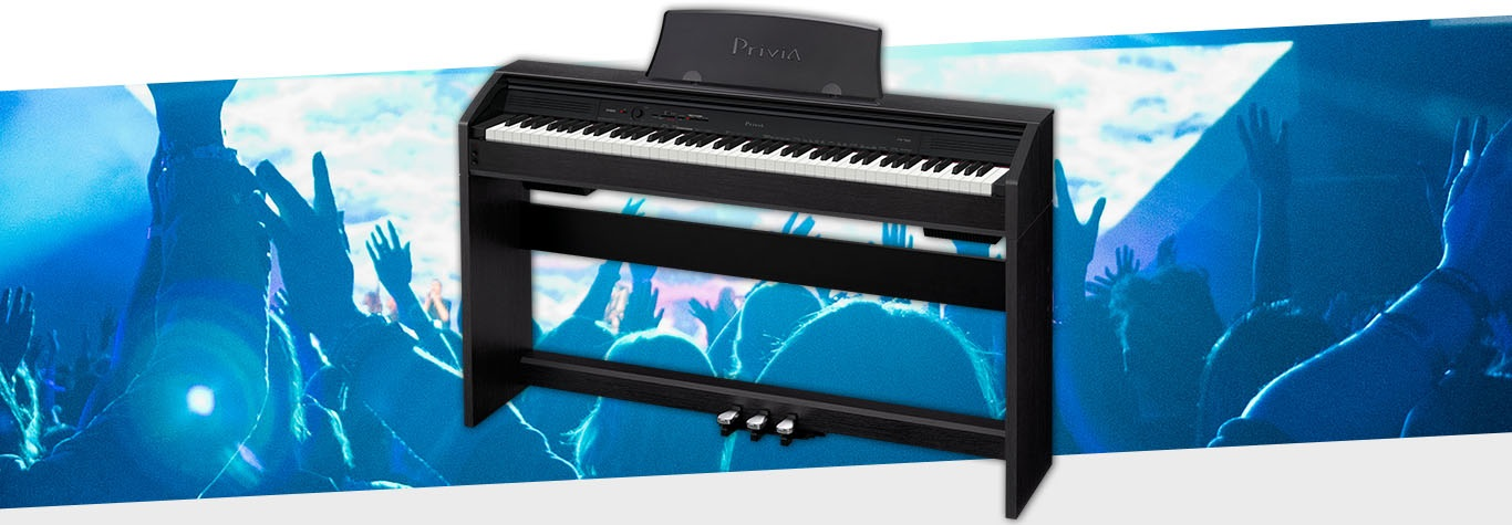 Electric Piano with graphic