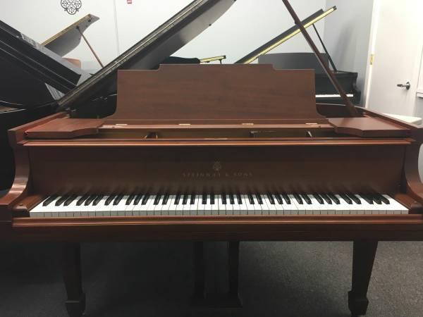 Rebuilt Steinway Piano Brown